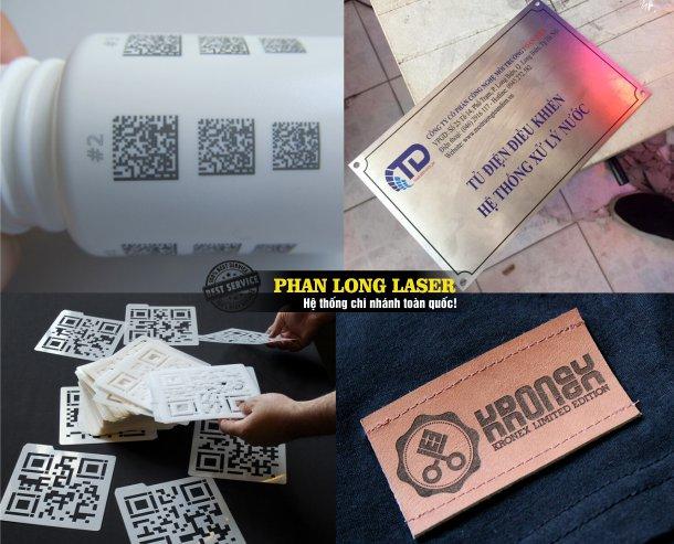 Công ty chuyên nhận in khắc laser theo yêu cầu lên nhựa gỗ, mica, thủy tinh pha lê, gốm sứ giá rẻ