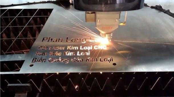 Địa điểm gia công cắt laser trên Inox Đồng Nhôm Sắt Thép kim loại tại Hcm Sài Gòn giá Rẻ
