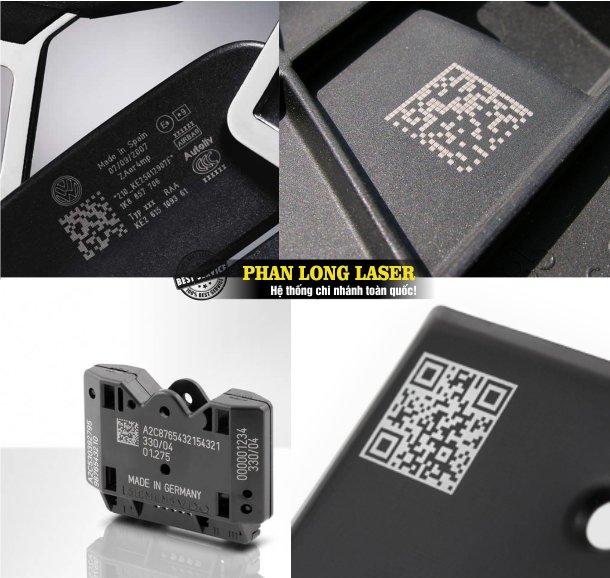 Xưởng chuyên nhận in khắc mã vạch, logo, mã QR code, thông số kỹ thuật lên nhựa theo yêu cầu lấy liền giá rẻ