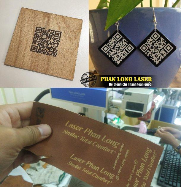 Địa chỉ cửa hàng nhận in khắc laser mã vạch, in khắc laser thông số kỹ thuật, in khắc mã code QR