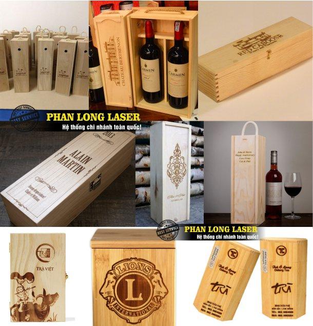 Xưởng khắc laser lên hộp gỗ giá rẻ lấy liền tại Tp Hồ Chí Minh, Sài Gòn, Đà Nẵng, Hà Nội và Cần Thơ