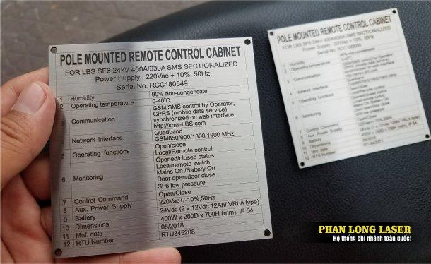 Cơ sở nhận sản xuất làm tem nhãn mác kim loại inox đồng nhôm theo yêu cầu lấy ngay lấy liền giá rẻ